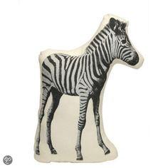 Areaware cushion Fauna Pico Zebra