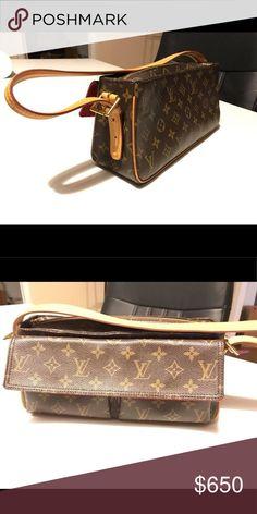 44d58cb75fac Authentic LV Viva Cite MM shoulder bag. Vintage BagsLouis VuittonShoulder  ...