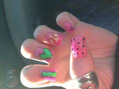Softball nails!!!