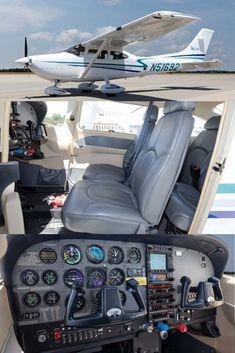 2002 Cessna 182 T For Sale! Cessna 150, Cessna Aircraft, Cessna For Sale, Flight Simulator Cockpit, Jet Privé, Airplane For Sale, Luxury Private Jets, Engine Pistons, Spaceship Art