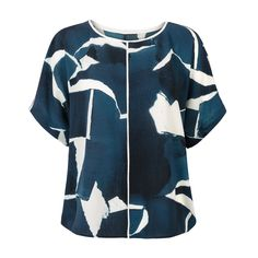 Buy the Kwazulu Print Top at Oliver Bonas. Enjoy free worldwide standard delivery for orders over £50.