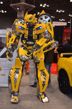 Amazing Bumblebee from Transformers #bumblebee #transformers #cosplay