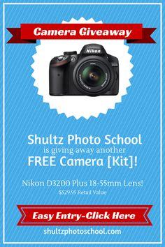 Schultz Photo School Camera Giveaway