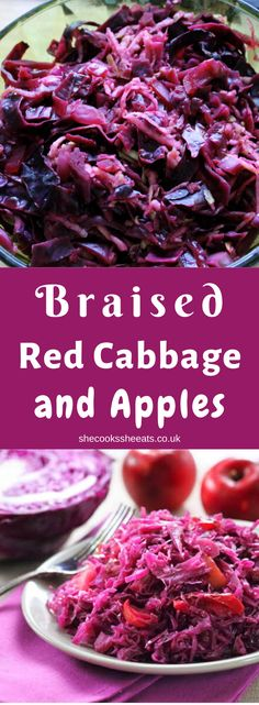 Slimming World Slow Cooker Braised Red Cabbage is rich in vitamin C and fiber and is good for digestive health. Braised red cabbage is a great alternative to… Slow Cooker Red Cabbage, Crockpot Cabbage Recipes, Braised Red Cabbage, Cabbage And Bacon, Cabbage Rolls, Healthy Veg Recipes, Dairy Free Keto Recipes, Raw Vegan Recipes