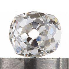 Diamond loose old mine cut .30 carat antique vintage    L     Si1    antique cushion brilliant cut diamond   circa 1800's by DavidJThomasJewelry on Etsy