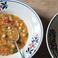 Smoked Paprika and Chickpea Soup by Leite's Culinaria