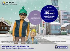 Truths and Myths About Winter Driving: Michelin Road Usage Lab Primer for Busy Mums Winter Tyres, Winter Road, Extreme Weather, Weather Conditions, No Response, Safety, Lab, Business, Truths