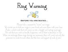 Wedding Ring Ceremony Wording Best 2017