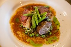 This flavourful recipe for whole Portland Mutton embraces the richness of the meat beautifully balanced by the freshness of the peas and dulse. Pop Up Restaurant, Chef Food, Executive Chef, Chef Recipes, Fork, Portland, Drawer, Oven, Appliances