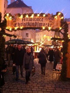 Old Vienna Christmas Market. Our guide told us there were now 70 Christmas Markets in Vienna. On my walk back to Viking Odin, I passed several, including one in the old town.