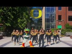 """""""the oregon duck - gangnam style parody"""": i'm so ashamed that my alma mater cal (uc berkeley) let u of oregon beat them to making a good parody video of 싸이 - 강남스타일 (psy - gangnam style).  c'mon, cal is like 90% asian.american or whatever...  how could they drop the ball on this one?!  well; congratulations, oregon ducks.  your mascot has always been cuter than ours.  oski is freaky."""