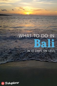 Figure out what to do in Bali with this complete 10-day Bali itinerary for independent travellers.