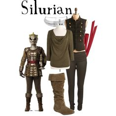 Silurian by companionclothes on Polyvore featuring MICHAEL Michael Kors, Pieces, Wet Seal, Club Manhattan, Us Angels and doctor who