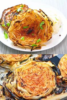 Salmon Recipes, Vegetable Recipes, Chicken Recipes, Grilled Cabbage Recipes, Fennel Recipes, Healthy Dinner Recipes, Vegetarian Recipes, Cooking Recipes, Tasty Videos
