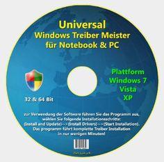 Universal Treiber Meister für Windows 7-Vista-XP Software, Operating System, Chart, Windows, Business, Window, Ramen