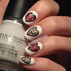 valentine by nailsbydaniellet  #nail #nails #nailart