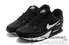 premium selection 35070 85863 meilleur prix chaussure Nike Air Max 90 L été homme noir Nike Air Max White