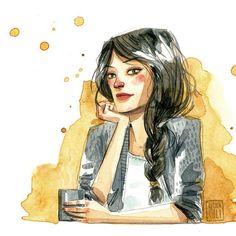 Esta moza fue un encargo de @mktingexpresso Está gustando mucho y estoy feliz. #marketingexpresso #esthergili