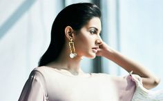 Download wallpapers Dastur Amyra, 4k, Bollywood, beauty, beautiful woman, brunette