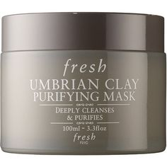 Fresh Umbrian Clay® Purifying Mask ($62) ❤ liked on Polyvore featuring beauty products, skincare, face care, face masks, fresh mask, toiletry bag, hydrating mask, travel toiletry case and toiletry kits