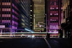Christophe Jacrot y sus cinematográficas fotografías de la arquitectura de Nueva York