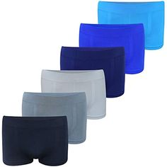 Schiesser Ragazzi Pantaloncini 3 Pack-Boxershorts Pants Blu//Bianco UNI e strisce