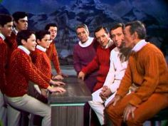 Here's one of the first time Donny appeared with his brothers with Andy Williams and his brothers! Thank you Andy, for sharing your gift with the world.  They just don't produce Christmas shows like this any more--aahhh the good old days!!