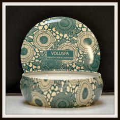 French Cade & Lavender Tin   Voluspa   SampleHouse