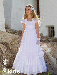 De la nota: Vestidos de comunión al más puro estilo ad lib  Leer mas: http://www.hispabodas.com/notas/2023-vestidos-de-comunion-al-mas-puro-estilo-ad-lib