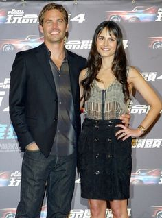 Paul and Jordana...FF4 Premiere