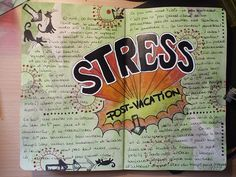 I wish I was artistic enough to MAKE my journal pages look this cool