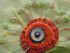 I Love Sue Spargo's hand embroidery work!