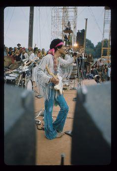 Jimi Woodstock 1969