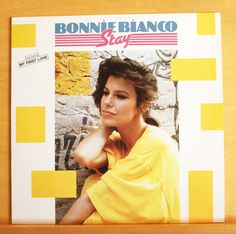 BONNIE BIANCO Stay - Vinyl LP My first Love Just a Friend Too young Pierre Cosso