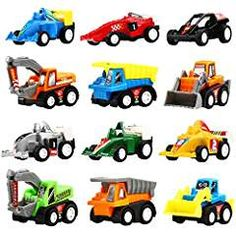 Yeonha Toys Pull Back Vehicles, 12 Pack Mini Assorted Construction Vehicles & Race Car Toy, Vehicles Truck Mini Car Toy for Kids Toddlers Boys Child, Pull Back & Go Car Toy Play Set Best Toddler Toys, Best Kids Toys, Toddler Boys, Children Toys, Mini Car, Toys For Tots, Go Car, Green Gifts, Toy Trucks