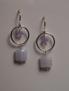 Women/'s Girls Silver Beautiful Fashion Cute Earrings Grape Dangle Earrings NZ