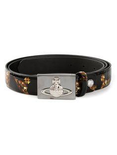 Vivienne Westwood / orb buckle printed belt – Case Study