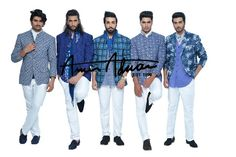 """This #Eid Amir Adnan presents an exclusive collection of #shalwarkameez, signature #kurtas, clinch-wasted vests, slim fit #trousers and breezy #cotton #shirts and trendy #trousers to add a stellar essence to one's persona."""" #EidCollection #Fashion #MensWear #AmirAdnan"""