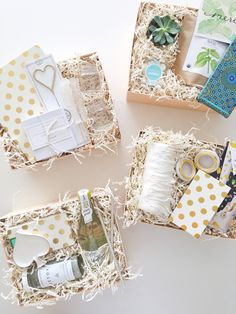 Custom Gift Boxes via BOXFOX // www.shopboxfox.com