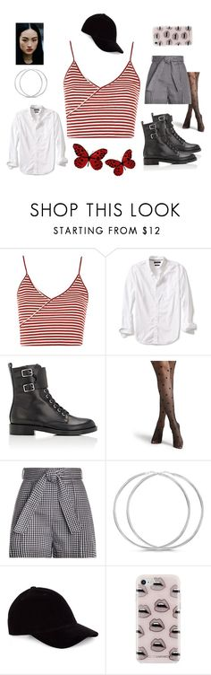"""""""street fashion"""" by haylee0110 on Polyvore featuring Topshop, Banana Republic, Gianvito Rossi, Zimmermann and Rebecca Minkoff"""