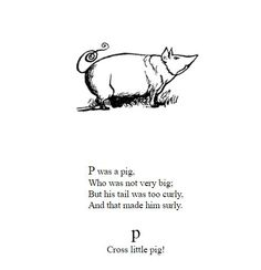 Edward Lear Edward Lear, Little Pigs, Poems, Teacup Pigs, Piglets, Poetry, Verses, Poem