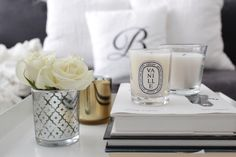 Diptyque | Vanille | Scented candle Spring Fairy, My Dream Home, Candles, Decoration, Interior, Glass, Inspiration, Ideas, Home Decor