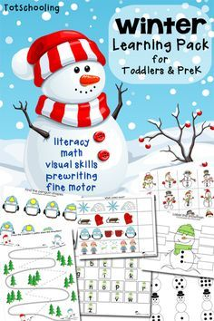 Snow printable pack