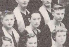 Lubbock High School. Yearbook 1954. Buddy Holley en el coro.