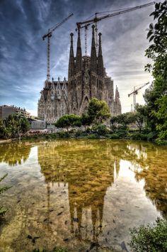Sagrada Família : Barcelone