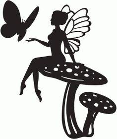 Woodland Fairy sterben Schnitt Silhouette Fee Ausschnitte X Silhouette Design, Fairy Silhouette, Fairy Templates, 3d Templates, Kirigami, Fairy Lanterns, Fairy Jars, Fairy Crafts, Woodland Fairy