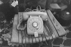 Old rotary dial phone Telephone Call, Vintage Telephone, Real Phone, Cinematic Photography, Vintage Phones, Flea Market Style, Glass Insulators, Favim, Antique Stores