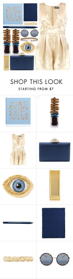 """""""bowlicious"""" by foundlostme ❤ liked on Polyvore featuring Boohoo, Serpui, Inés Figaredo, Lipstick Queen, Almay, Missoni, Effy Jewelry, Matthew Williamson, Humble Chic and bows"""