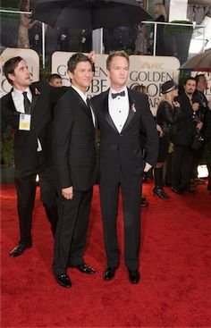Mr. and Mr. Neil Patrick Harris and David Burtka.