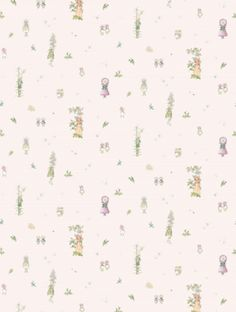 Blomsterfesten, a feature wallpaper from Boråstapeter, featured in the Scandinavian Designers Mini collection.